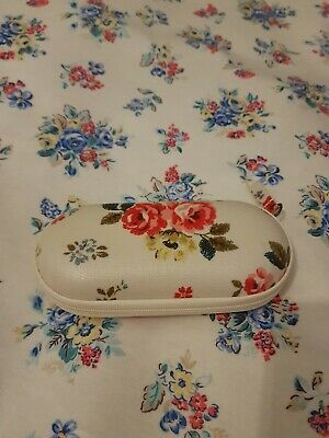£16.99 • Buy Cath Kidston Zipped Around Glasses Case & Cleaning Cloth NEW