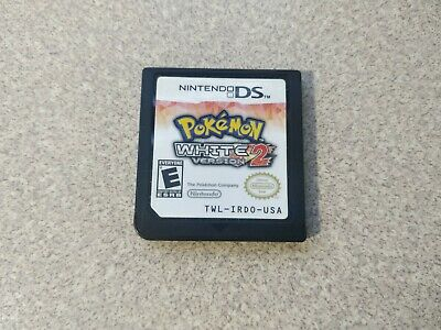 $124.99 • Buy Pokemon White Version 2 Authentic Nintendo DS 2012 US Ship Cartridge Only Tested