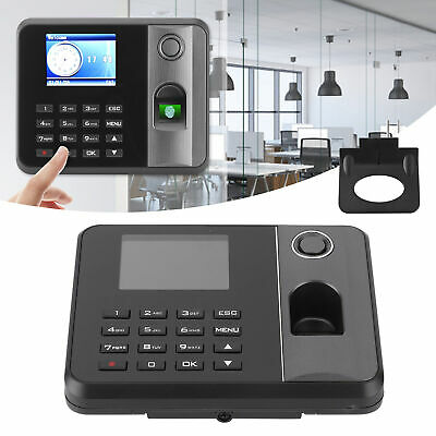 £45.96 • Buy 2.8  Time Clock Fingerprint Password Independent Employee Checking‑In Attendance
