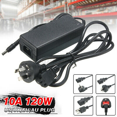 £6.87 • Buy 12V 1/2/3/4/5/6/8/10A Power Supply AC To DC Adapter 5050 3528 LED Strip Ligh