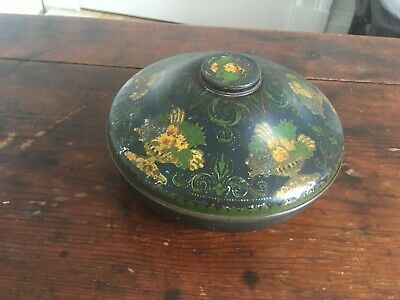 £8 • Buy DECORATIVE VINTAGE ROWNTREES TAZZA SWEETS TIN  6 Inches