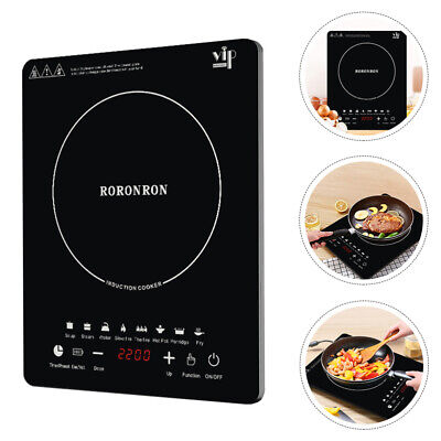 £38.89 • Buy Electric Induction Hob Portable Digital Touch Single Cooker Hot Plate Stove UK