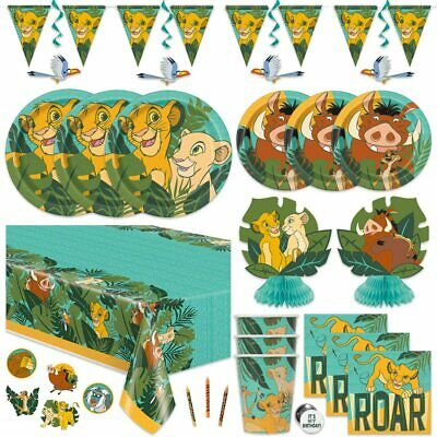 £7.99 • Buy Lion King Party Supplies Plates, Cups, Napkins, Balloons, Banners, Scene Setters