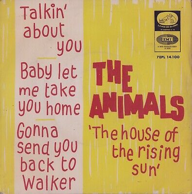 £14.95 • Buy THE ANIMALS:  The House Of The Rising Sun  (´64 / Rare Orig. Spanish EP)