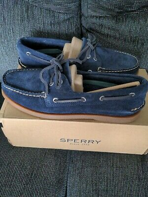 £59.95 • Buy Sperry Top-Sider A/O 2-Eye Washable Deck / Boat Shoe, Navy, UK 8