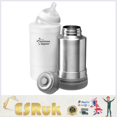 £15.30 • Buy Tommee Tippee Closer To Nature Baby Bottle Food Warmer Flask Compact Travel New