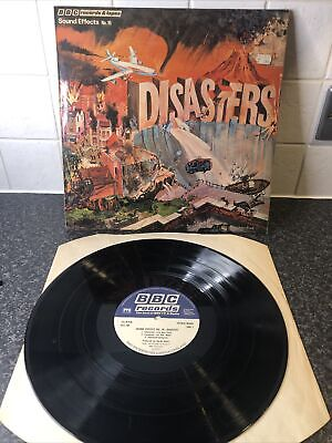 £7.50 • Buy Sound Effects No.16 Disasters BBC Vinyl LP Record 1977 A2/B2 EX+/VG+
