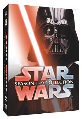 £21.82 • Buy Star Wars - The Complete DVD Movie Box Set - Episodes I-IX (1-9 Movies) FREE S/H