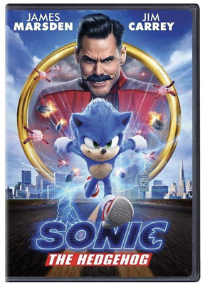 £5.84 • Buy Sonic The Hedgehog (DVD, 2020) Jim Carrey - New & Sealed FREE Shipping!