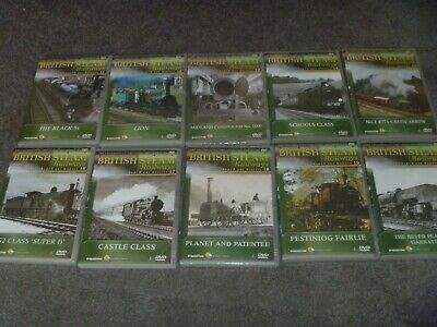 £2.99 • Buy British Steam Railways DVD Collection Numbers 11-20 By DeAgostini - Job Lot -R 2