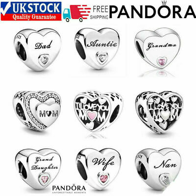 £10.88 • Buy Pandora Charms Family Friends Collection Mum Sister Daughter Nan Friendship NEW