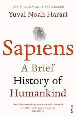 AU19.90 • Buy Sapiens A Brief History Of Humankind By Yuval Noah Harari Paperback Book NEW