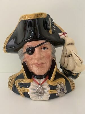 £40 • Buy Royal Doulton Vice~Admiral Lord Nelson Character Jug Special Edition