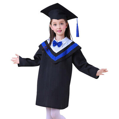 £18.23 • Buy 1 Set Gown And Cap Academic Graduation Gown Set Clothing For Performance Cosplay
