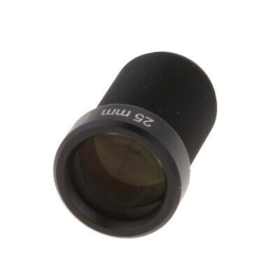£7.42 • Buy 1/2'' HD 5mp 25mm 15 Degree Angle IR Board CCTV Lens M12 For Security IP Camera