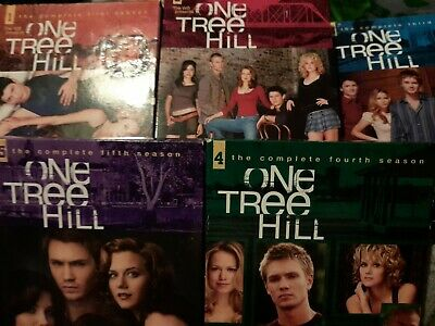 £12 • Buy Seasons 1-5 One Tree Hill Dvd Collection Series 1 2 3 4 5 Bundle