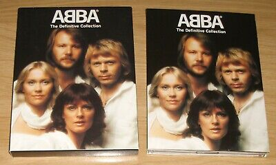 £19.99 • Buy ABBA - The Definitive Collection 2 CD'S & DVD Box Set + Booklet 72 Tracks