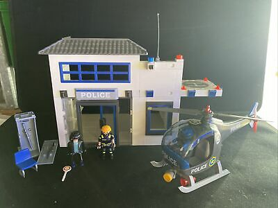 £12.99 • Buy Playmobil Police Job Lot Incs Police Station, Helicopter, Figures Etc
