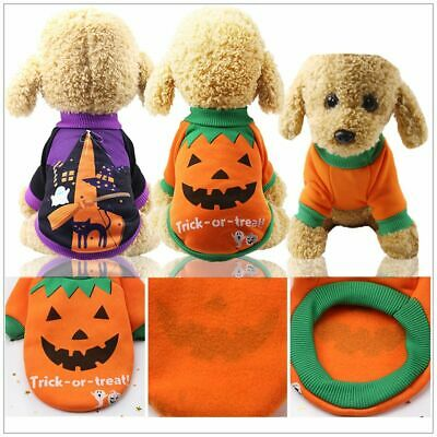 £4.77 • Buy Halloween Costume Outfit For Dogs Cats Two Feet Clothes Funny Pets Clothes UK