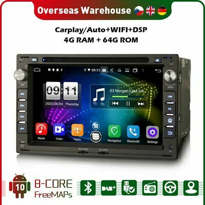 £237.37 • Buy 8 Core DAB+Car Stereo Android 10 Carplay Sat Nav For VW POLO GOLF 4 TRANSPORTER