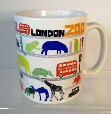 £7.95 • Buy London Zoo ZSL Cartoon Icons Designed Mug - Excellent Condition