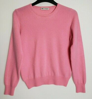 £19.99 • Buy M&s 100% Pure Cashmere Jumper S Pink 328