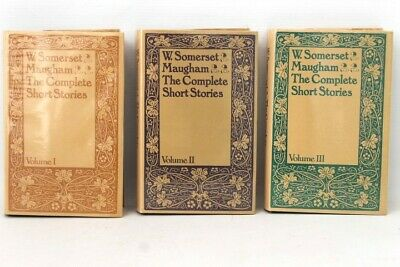 £4.99 • Buy W SOMERSET MAUGHAM THE COMPLETE STORIES Vol I,II,III Hardcovers - S29