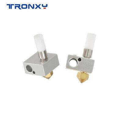 AU11.71 • Buy 3D Printer MK8 Heater Assembly Throat Heating Block Nozzle For X5SA 2E Series