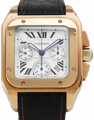 £13200 • Buy Cartier Santos 100 XL 2741 2741 Yellow Gold Automatic Watch, 2009
