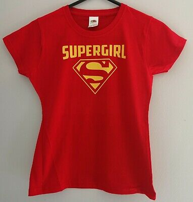£6.50 • Buy Girls Fitted Tshirt Red Size 7-8 Years