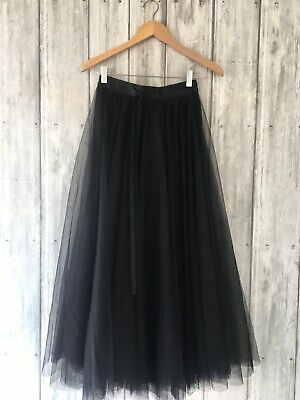 £10 • Buy Choklate Womens Black Netting Maxi Skirt,size S, New With Tags