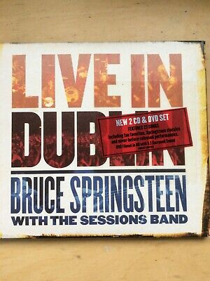 £1.30 • Buy Bruce Springsteen And The Sessions Band - Live In Dublin 2007 Dbl CD + DVD  CD