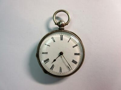 £31 • Buy Antique Swiss 935 FINE SILVER POCKET, FOB WATCH - Solid Silver Case - Ticking!