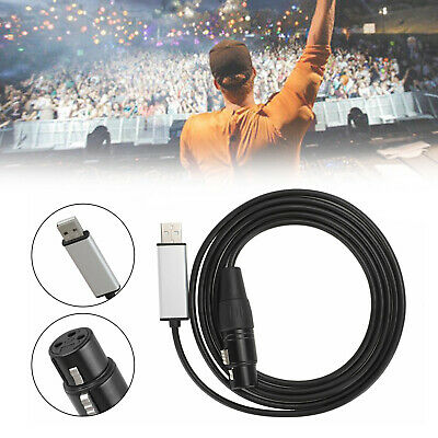 £21.16 • Buy USB To DMX Interface Adapter DMX512 Stage Light Controller Cable For Computer