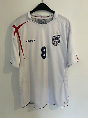 £6.50 • Buy England World Cup 2006 Home Shirt No.8 Lampard Size XL