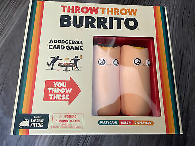 AU12.67 • Buy Throw Throw Burrito By Exploding Kittens - A Dodgeball Card Game