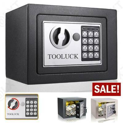 £21.89 • Buy High Security Solid Steel Safety Box W/Keys Lockable Home Office Money Cash Safe