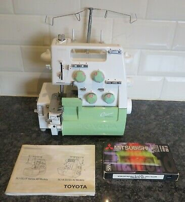 £28 • Buy Toyota SL1T Overlocker Sewing Machine Booklet/Video    Untested Spares & Repairs