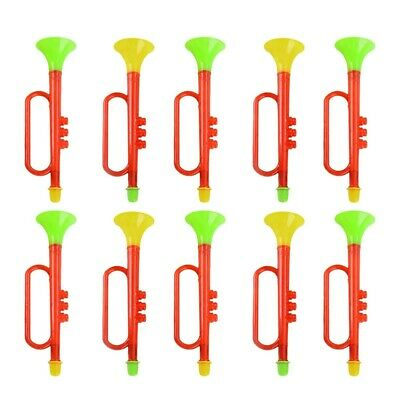 £19.64 • Buy 10pcs Trumpet Toy Birthday Cartoon Funny Educational Cheering Prop For Kids