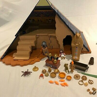 £15.99 • Buy PlayMobil Plastic Toy - Egyptian Pyramid Play Set With Figures & Accessories