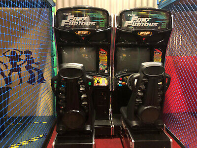 £1000 • Buy Arcade Machine Video Game - The Fast And The Furious 2 Player Racing Game