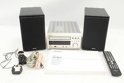 £50 • Buy DENON RCD-M37DAB CD Receiver With A Pair Of SC-M37 Speakers 6Ohms - T17