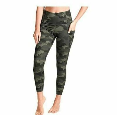 £14.65 • Buy NEW Camo Army Green Active Life Missy Women's Printed 7/8 Tight