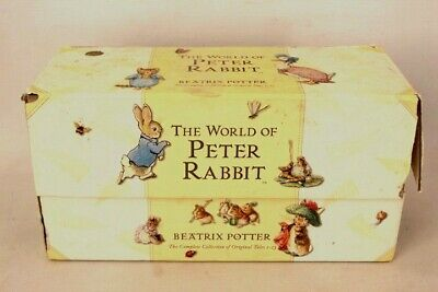 £8 • Buy THE WORLD OF PETER RABBIT By Beatrix Potter 1-23 Box Set F Warne & Co - S34