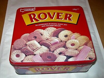 £5.99 • Buy 1995 Crawford's Rover Biscuit Tin