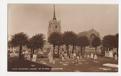 £2.99 • Buy Cathedral Church Of St. Mary Chelmsford, Judges 21523 Postcard, A939
