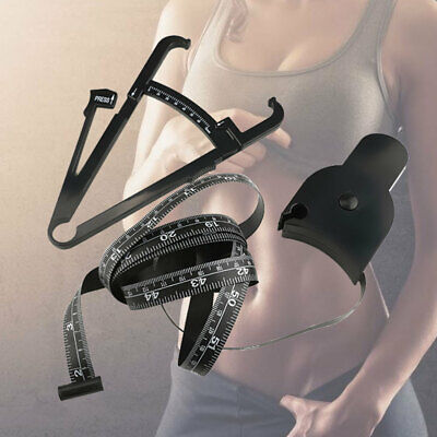 £11.31 • Buy 1 Set Body Fat Tester Calipers Reusable Personal Fat Test Calipers For Women