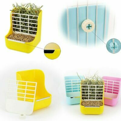 £11.49 • Buy Rabbit Hay Feeder Less Wasted With Hay Rack Manger For Guinea PigChinchilla#LA