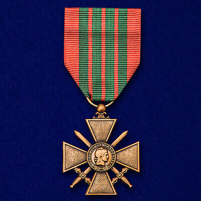 £18 • Buy Croix De Guerre FRENCH WWII AWARD ORDER BADGE MEDAL Military Cross Reproduction