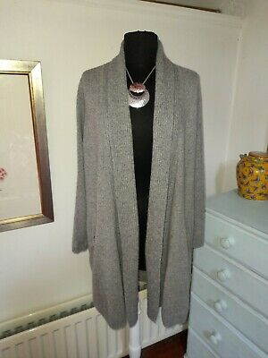 £8.50 • Buy M&S Collection Pure Cashmere Long Line Cardigan - UK 12 - Super Soft -